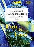 Okładka: Naulais Jérôme, Home on the Range - 4-Part Ensemble