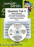 Okładka: Mortimer John Glenesk, Brass Quartet Vol. 2