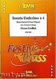 Okładka: Uccellini Marco, Sonata Undencima a 4 - 2 Cornets, 2 Euphoniums