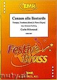 Okładka: Milanuzzi Carlo, Canzon alla Bastarda - Trumpet (Cornet), Trombone & Piano (Organ)