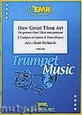 Okładka: Richards Scott, How Great Thou Art - 2 Cornets & Piano (Organ)