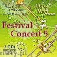 Okładka: Philharmonic Wind Orchestra, Marc Reift Orchestra, Festival Concert 5