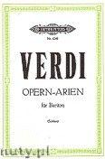 Okładka: Verdi Giuseppe, Opern - Arien für Bariton