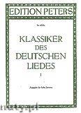 Okładka: Różni, Classics of the German Songs for Voice and Piano, Vol. 1 (High Voice)