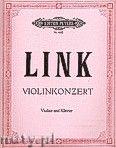 Okładka: Link Joachim-Dietrich, Konzert für Violine und Klavier
