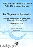 Okładka: Bobrowicz Jan Nepomucen, Variations et Polonaise sur un duo de l'opéra