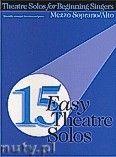 Okładka: Różni, 15 Easy Theatre Solos for Mezzo Soprano or Alto