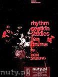 Okładka: Sterling Don, Rhythm Section Studies For Drums
