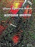 Okładka: Zganiacz-Mazur Liliana, Historia muzyki