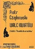 Okładka: Czajkowski Piotr, Walc kwiatów na kontrabas i fortepian