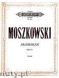 Okładka: Moszkowski Maurycy, 3 Arabesken op. 61 für Klavier