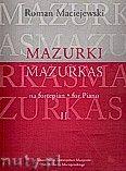 Okładka: Maciejewski Roman, Mazurki na fortepian, cz. 2