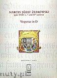 Okładka: Żebrowski Marcin Józef, Vesperae in D (partytura)