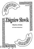 Okładka: Słowik Zbigniew, Mędrcy świata na kwartet smyczkowy (partytura + głosy)