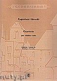 Okładka: Głowski Eugeniusz, Capriccio per violino solo