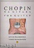 Okładka: Chopin Fryderyk, Słynne transkrypcje na gitarę
