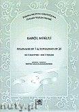 Okładka: Mikuli Carl, Polonez p.7 i Scherzino op.25 na troje skrzypiec (partytura i głosy)