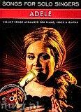 Okładka: Adele, Adele. Songs for solo singers