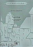 Okładka: Jabłoński Henryk Hubertus, Tryptyk na 3 wiolonczele
