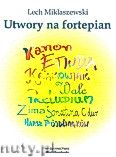 Okładka: Miklaszewski Lech, Utwory na fortepian