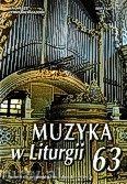 Okładka: , Muzyka w Liturgii nr 63