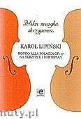 Okładka: , Rondo alla polacca op.17 naskrzypce i fortepian
