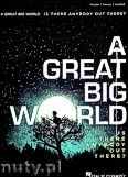 Okładka: , A Great Big World - Is There Anybody Out There?