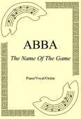 Okładka: ABBA, The Name Of The Game