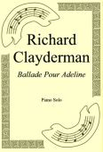 Okładka: Richard Clayderman, Ballade Pour Adeline