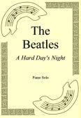 Okładka: The Beatles, A Hard Day's Night
