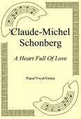 Okładka: Claude-Michel Schonberg, A Heart Full Of Love