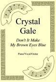 Okładka: Crystal Gale, Don't It Make My Brown Eyes Blue