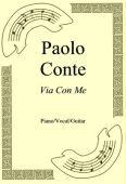 Okładka: Paolo Conte, Via Con Me