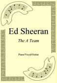 Okładka: Ed Sheeran, The A Team