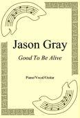 Okładka: Jason Gray, Good To Be Alive
