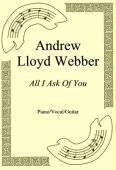 Okładka: Andrew Lloyd Webber, All I Ask Of You