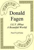 Okładka: Donald Fagen, I.G.Y. (What A Beautiful World)