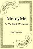 Okładka: MercyMe, In The Blink Of An Eye