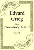 Okładka: Edvard Grieg, Puck (Smatrold) Op. 71 No. 3