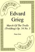 Okładka: Edvard Grieg, March Of The Trolls (Troldtog) Op. 54 No. 3