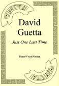 Okładka: David Guetta, Just One Last Time