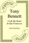 Okładka: Tony Bennett, I Left My Heart In San Francisco