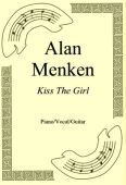 Okładka: Alan Menken, Kiss The Girl