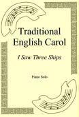 Okładka: Traditional English Carol, I Saw Three Ships