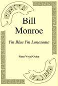 Okładka: Bill Monroe, I'm Blue I'm Lonesome