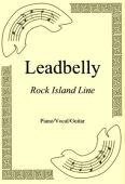 Okładka: Leadbelly, Rock Island Line