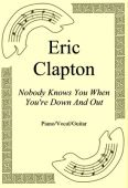Okładka: Eric Clapton, Nobody Knows You When You're Down And Out