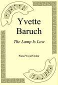 Okładka: Yvette Baruch, The Lamp Is Low
