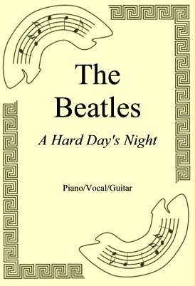 Okładka: The Beatles, A Hard Day's Night