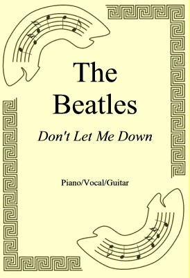 Ok�adka: The Beatles, Don't Let Me Down